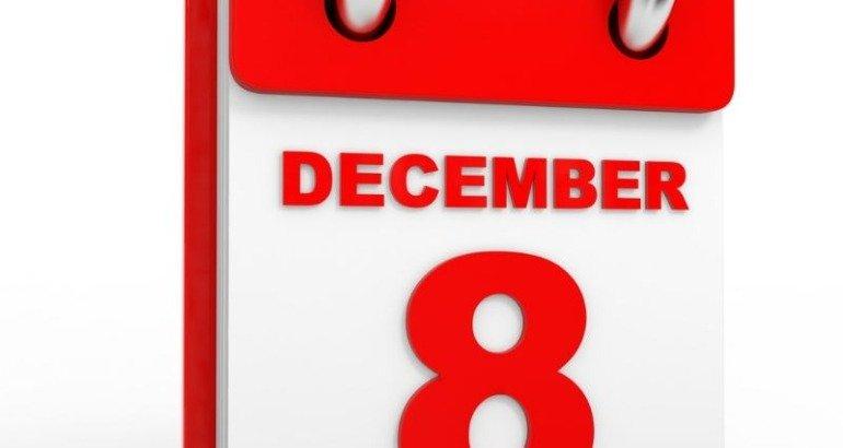 Orari 8 Dicembre